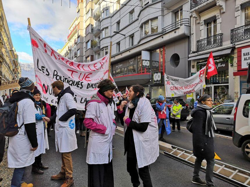 Les personnels hospitaliers de l'Isère toujours en grève ce jeudi.