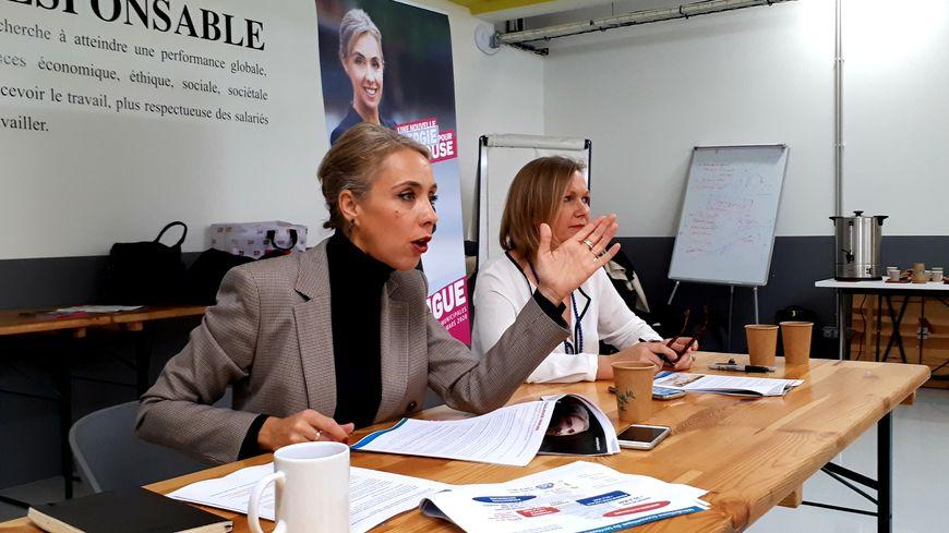 Nadia Pellefigue, la candidate UNE-PS-PRG-PC aux municipales à Toulouse
