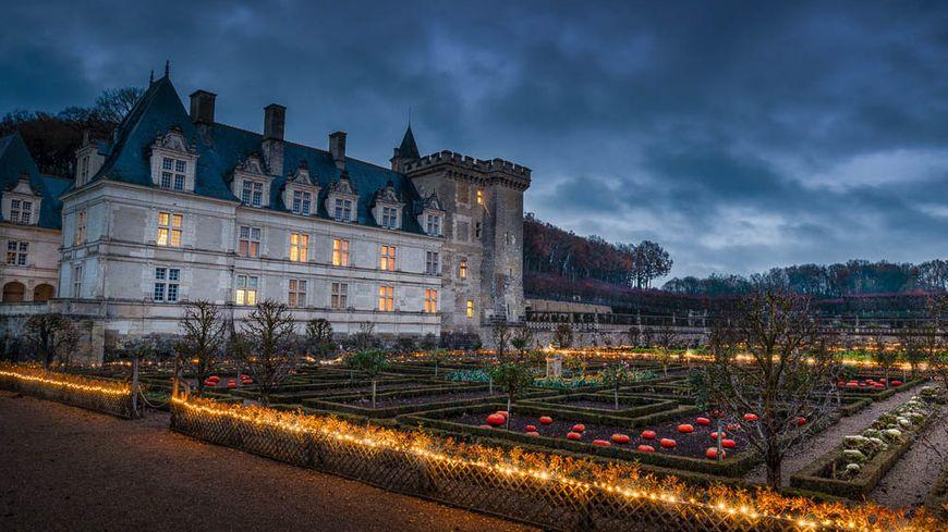 Noël au Pays des Chateaux : Villandry