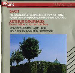 Concerto en Mi Maj bwv 1042 : Allegro - pour violon et orchestre - ARTHUR GRUMIAUX