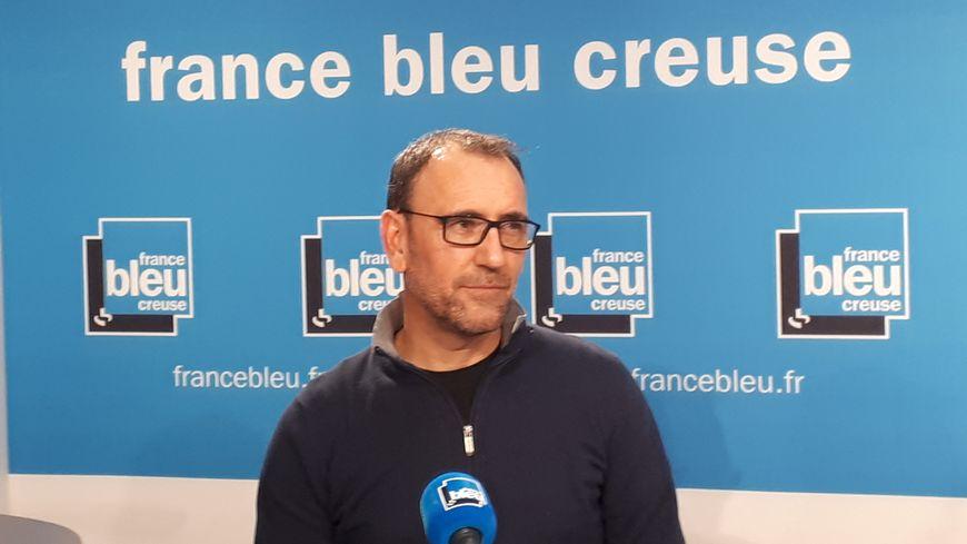 Laurent Margueritat, secrétaire départemental de la CGT