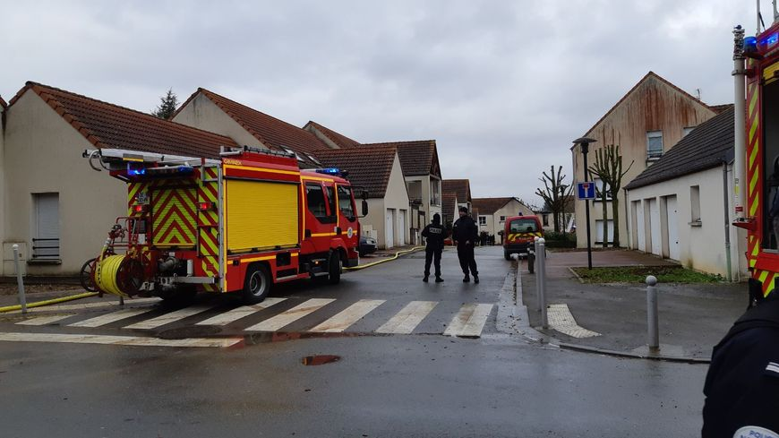 L'incendie s'est déclaré dans une maison de la rue Métairie à Amiens