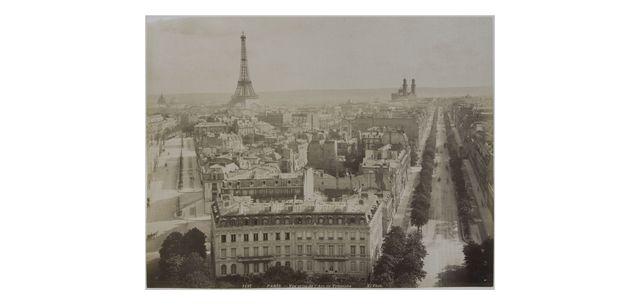 Panorama pris depuis l'Arc de Triomphe - 1889 -Neurdein