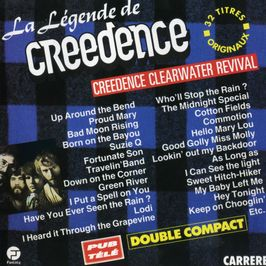 """Pochette de l'album """"La legende de creedence"""" par Creedence Clearwater Revival"""