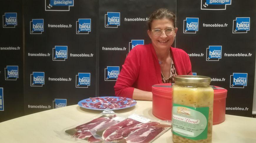Valérie Legrand de la Ferme Beleslou de Cagnotte