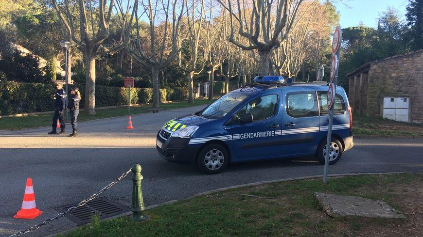 Les gendarmes ont ratissé la zone du parc de la Valmasque à Mougins mercredi 25 décembre, jour de la découverte du corps