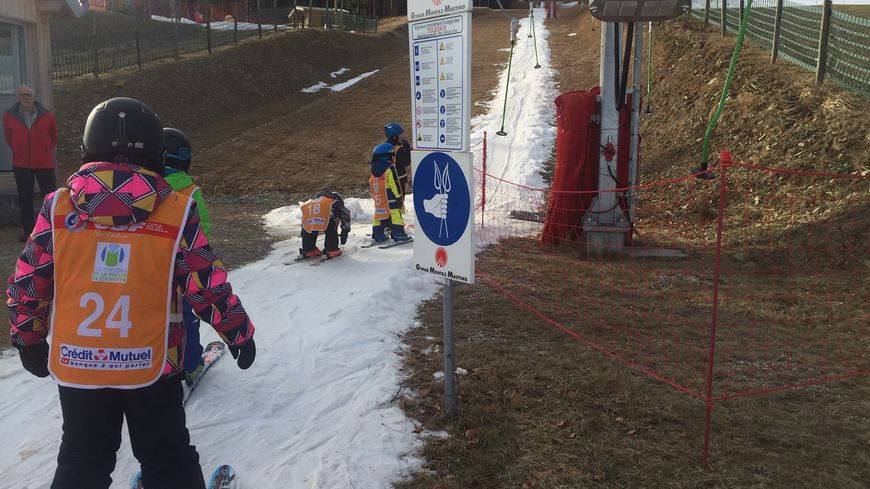 Deux pistes pour débutants sont ouvertes au Schnepfenried