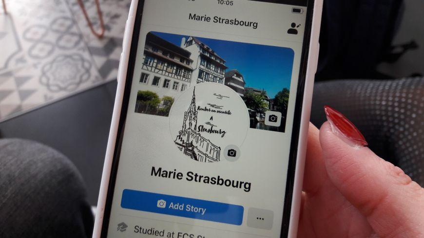 "Page Facebook ""Marie Strasbourg"", 2 décembre 2019"