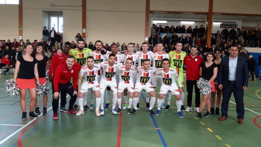 L'étoile Lavalloise termine l'année 2019 par une victoire 4-1 devant Reims.