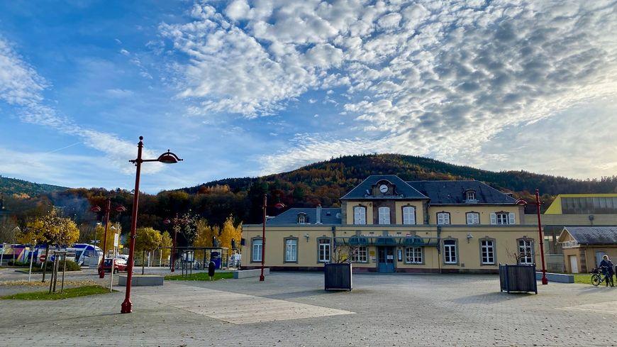 Munster, place de la gare