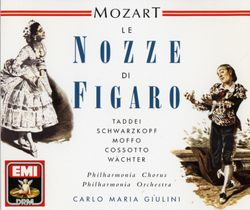 Les noces de Figaro : Pace pace mio dolce tesoro (Acte IV) Trio Figaro Susanna le Comte - GIUSEPPE TADDEI