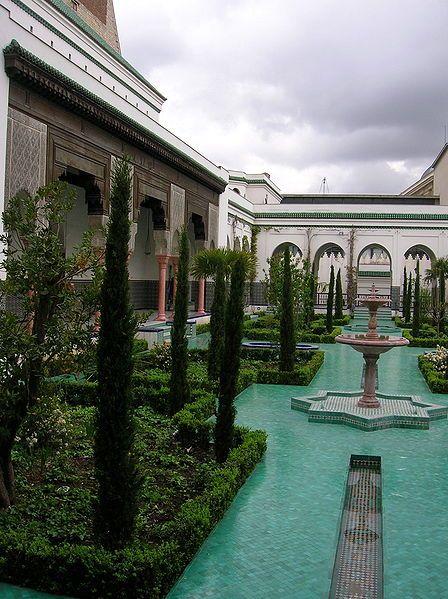 Patio de la Grande Mosquée de Paris