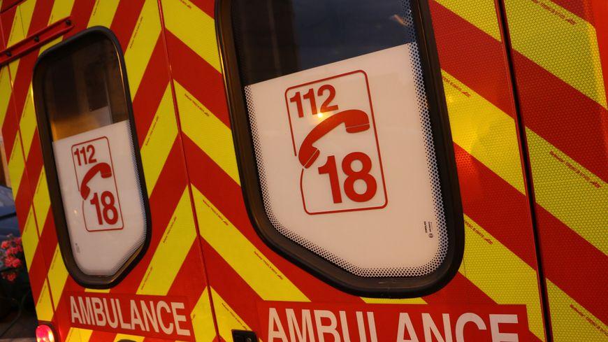 Ambulance de pompiers (Illustration)