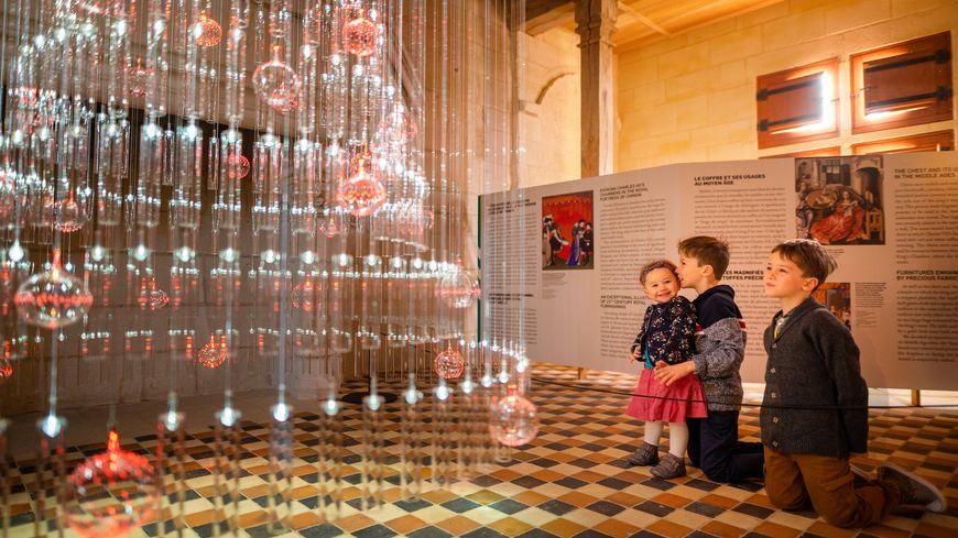 Noël au Pays des Chateaux : Forteresse Royale de Chinon