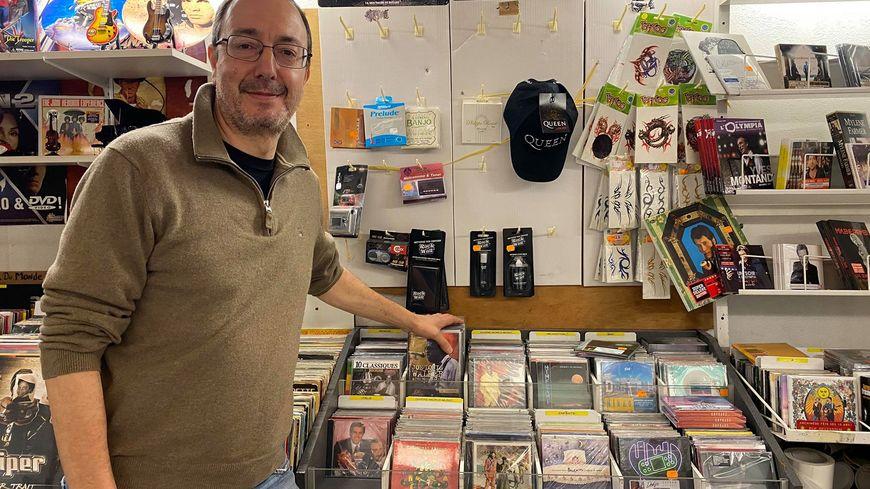Le magasin Vibrations à Ajaccio avec André Paldacci