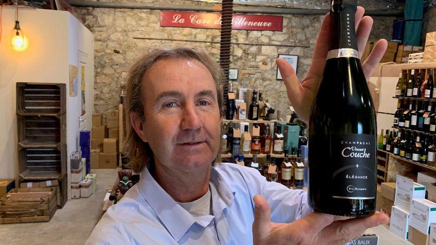 Le champagne Vincent Couche : le coup de coeur de Guy Destribats de la cave de Villeneuve-lès-Maguelone