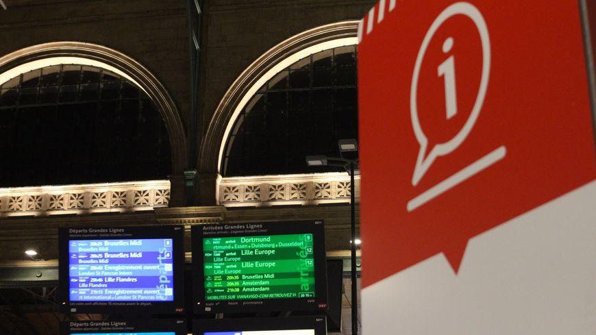 La grève se poursuit à la SNCF (illustration)