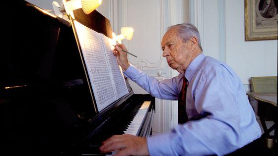Marcel Landowski au piano (1915-1999)