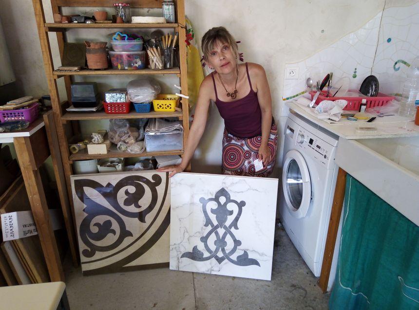 La mosaïste Béatrice Jouanneau toujours en recherche de techniques et matériaux nouveaux