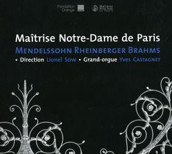 Ave Maria op 12 - pour choeur mixte et orgue - LIONEL SOW