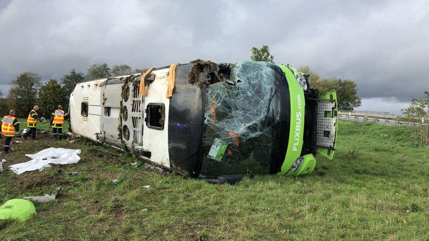 Un Flixbus Paris-Londres s'était renversé sur l'A1 le 3 novembre 2019