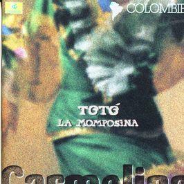 "Pochette de l'album ""Carmelina"" par Toto La Momposina"