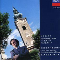 Concerto nº9 en Mi bémol Maj K 271 pour pianoo et orchestre : Rondeau : Presto - Andras Schiff
