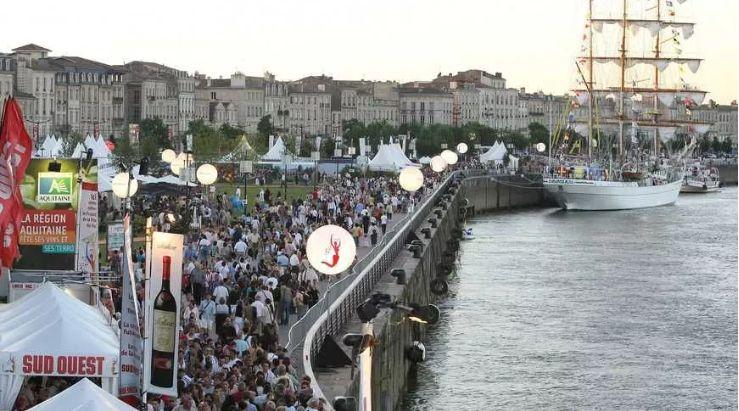 Bordeaux fête le vin reviendra sur les quais.