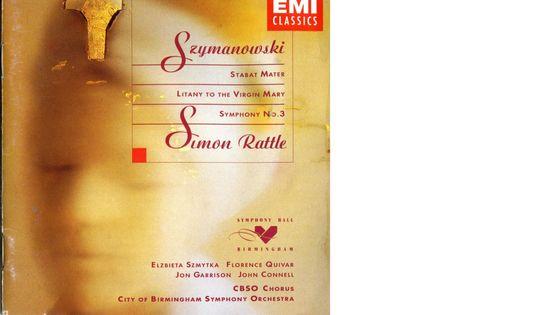 Szymanowski par Simon Rattle, l'Orchestre Symphonique De La Ville De Birmingham