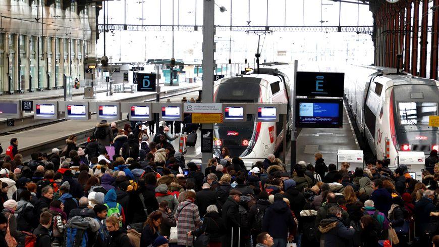 Gare de Lyon, le 26 décembre 2019