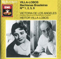 Bachianas brasileiras n°5 pour soprano et 8 violoncelles : II. Dança (martelo) - VICTORIA DE LOS ANGELES