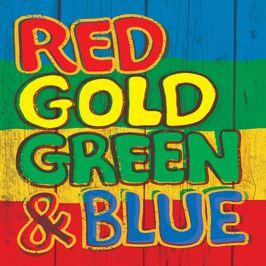 """Pochette de l'album """"Red, gold, green & blue"""" par Phylea Carley"""