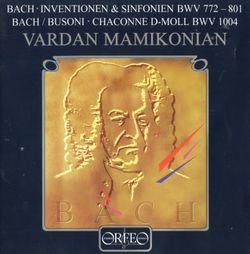 Sinfonia n°9 en fa min BWV 795 / Pour clavier / Version pour piano - VARDAN MAMIKONIAN