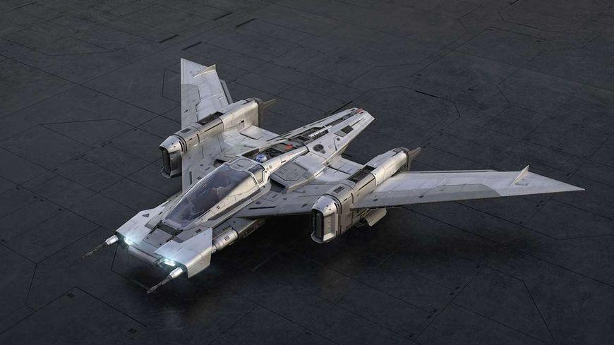 Tri-wings S-91 x Pegasus Starfighter