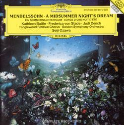 A midsummer night's dream op 61 : Finale - Kathleen Battle