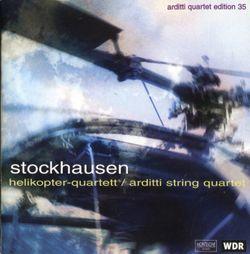 Helikopter-streichquartett /  / Pour quatuor a cordes 4 helicopteres avec pilotes et 4 techniciens son , 4 metteurs de television et 4 X 3 diffuseurs - QUATUOR ARDITTI