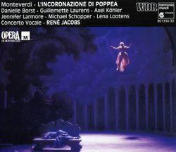 Le couronnement de Poppée : Pur ti miro pur ti godo (Acte III Sc 8) Duo Néron Poppée - DANIELLE BORST