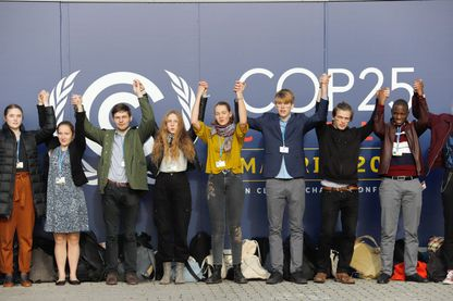 Les jeunes de la COP25