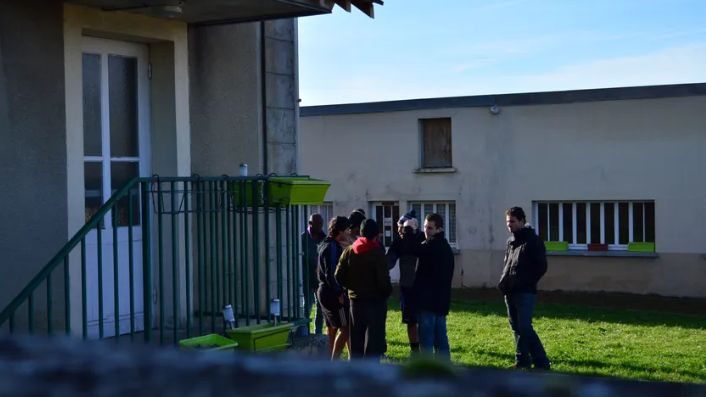 Les premiers migrants arrivés dans l'Yonne en octobre 2016.
