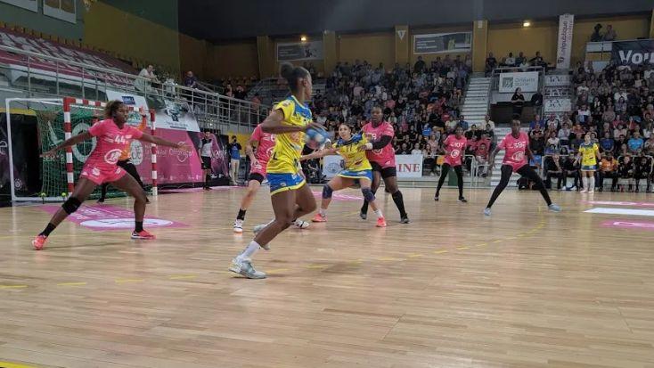 Les joueuses du Fleury Loiret Handball - Illustration