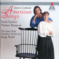 Old american songs livre II pour baryton et petit orchestre : At the river - THOMAS HAMPSON