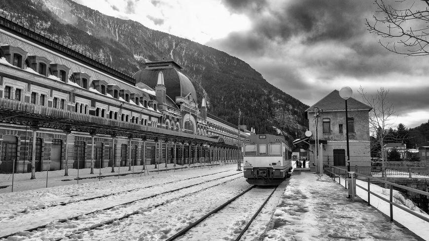 La mythique gare de Canfranc