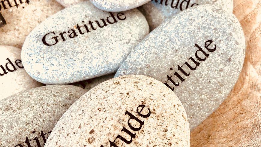 Gratitude rocks - Photos