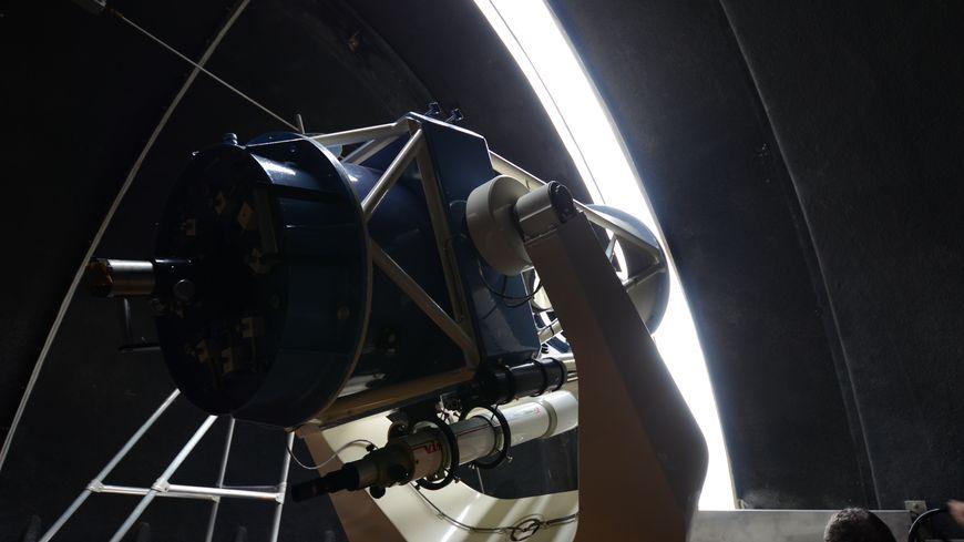 Le téléscope de 600 mm du planétarium