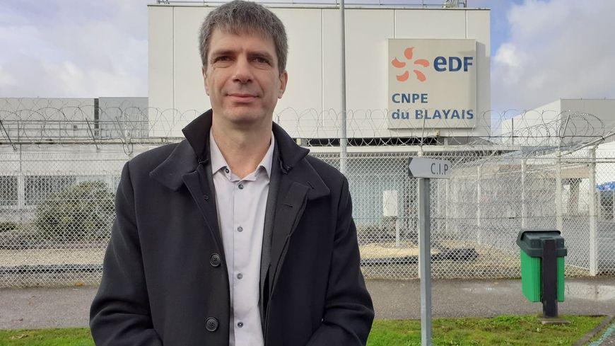 Séverin Buresi, directeur de la centrale nucléaire du Blayais