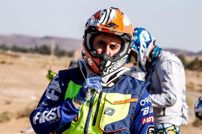 Sébastien Lagut participe à la 42e édition du Dakar.