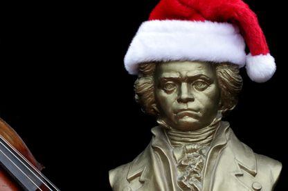 Beethoven vous souhaite des joyeuses fêtes