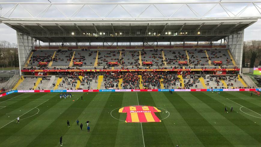 Le stade Bollaert-Delelis avant la rencontre.