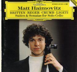 Suite op 72 pour violoncelle seul : Serenata : Allegretto - MATT HAIMOVITZ