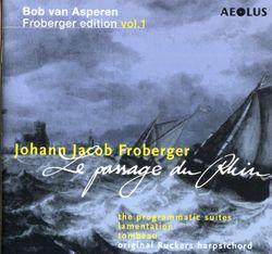 Suite n°16 en Sol Maj pour clavecin : Allemande representant la chute d'une montagne de froberger - BOB VAN ASPEREN